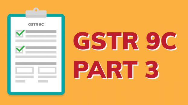 GSTR-9C-Part-III