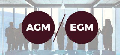 AGM and EGM meeting